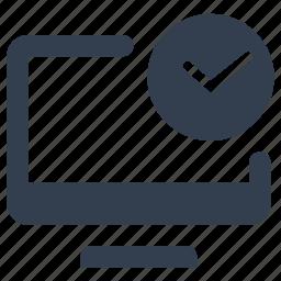 clock, computer, hibernate, monitor, power saving, sleep, time icon