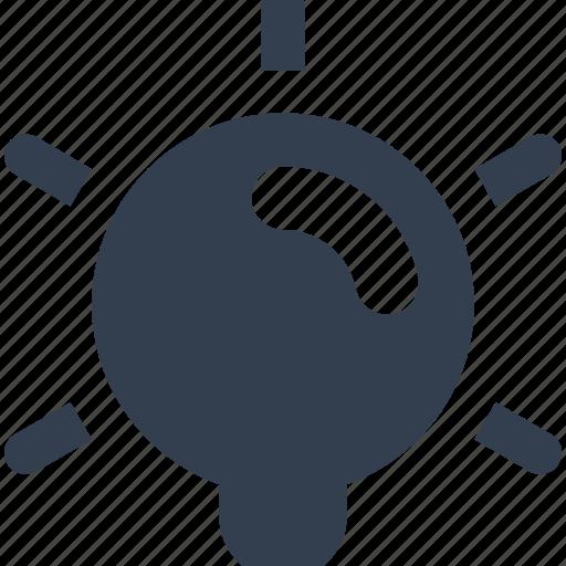bright, bulb, electric, ideea, light, web icon