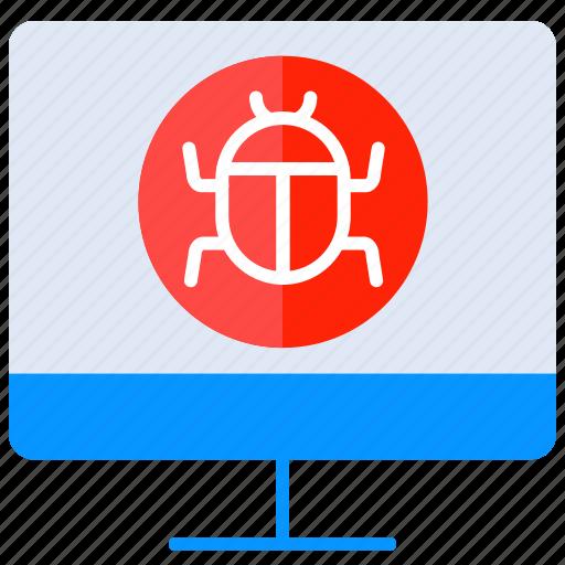 bug, defect, hack, internet, spam, virus icon