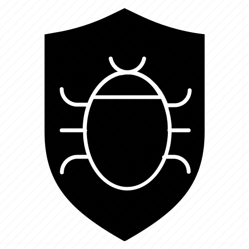 firewall, hack, infect, security incident, shield, virus icon