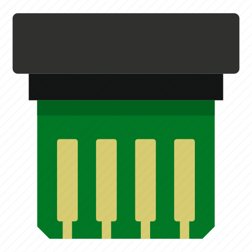 board, chip, computer, digital, electronic, processor, technology icon