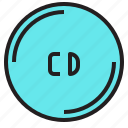 cd, computer, device, notebook, pc icon
