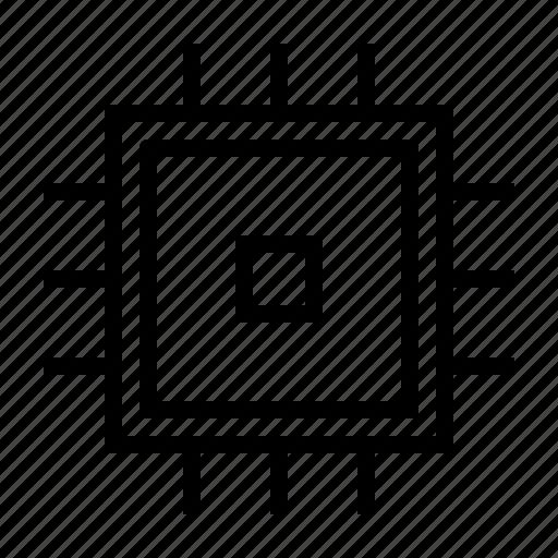 chip, component, computer, hardware, processor icon