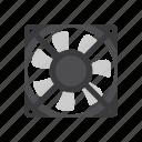 computer, device, electronics, fan, fan sink, heat sink, technology
