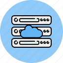 cloud, computer, device, server, share, storage