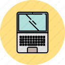 communication, computer, device, laptop, technology icon