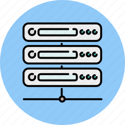 computer, device, network, server, sharing, technology icon