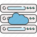 cloud, computer, device, save, server, share, storage icon