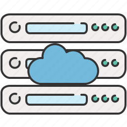 cloud, computer, device, guardar, save, server, share, storage icon