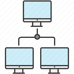 computer, device, network, sharing icon