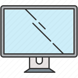 computer, device, screen, technology icon