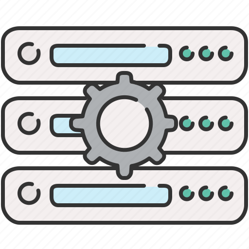 functions, preferences, server, settings icon