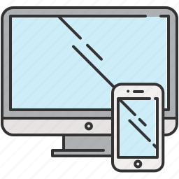 computer, device, phone, screen, smart, technology icon