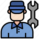 technician, employee, electronics, worker, user
