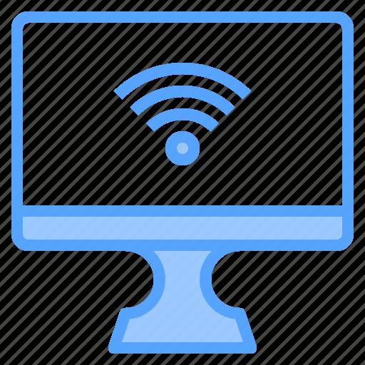 comfortable, computer, display, fi, file, folder, wi icon