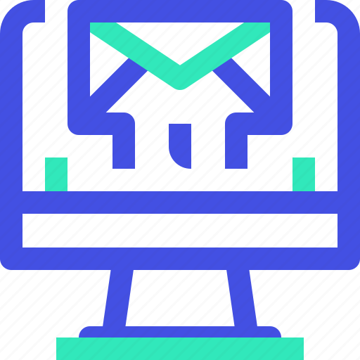 computer, email icon