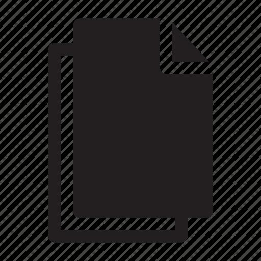 document, duplicate, files, replicate icon