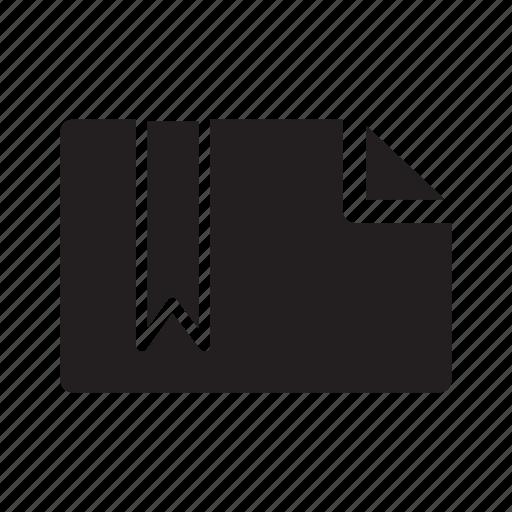 bookmark, document, files, label, ribbon, tag icon