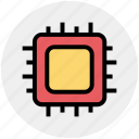 chip, microchip, processor, processor chip, processor cpu icon