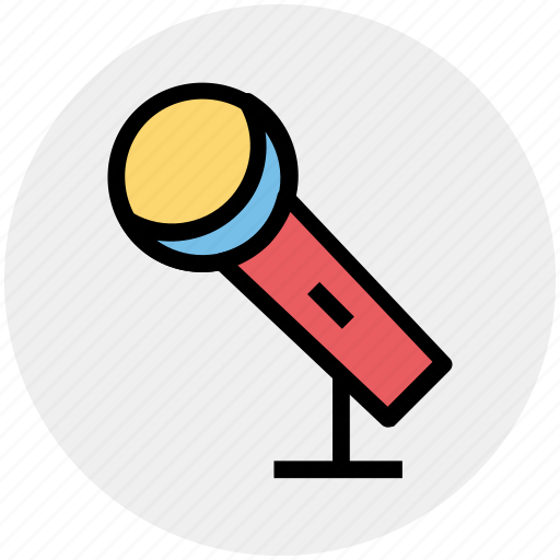 Mic, microphone, mike, music rec, recording, sound, speech icon - Download on Iconfinder
