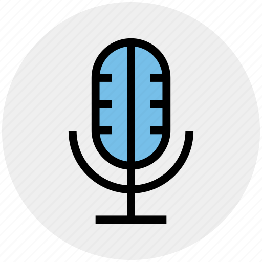 Mic, microphone, recorder mic, speaker mic icon - Download on Iconfinder