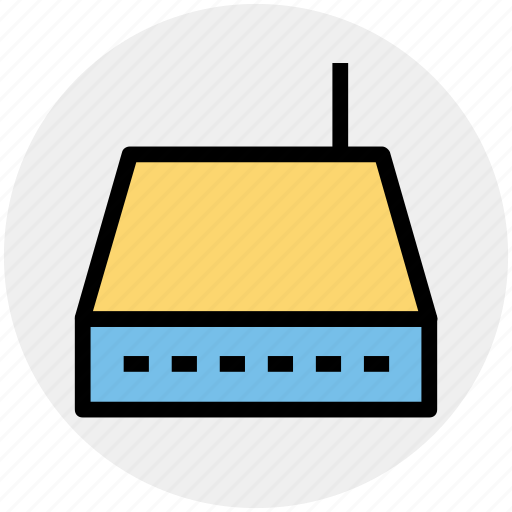 Internet device, modem, network switch, router, wifi, wireless icon - Download on Iconfinder