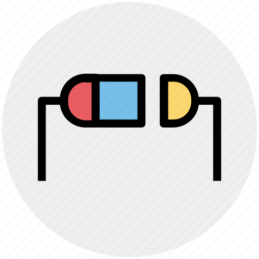 Chip resistor, component, electrical, electrical resistance, electronic resistor, resistor icon - Download on Iconfinder