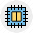 core, microchip, processor, processor chip, processor cpu icon