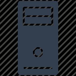 case, hardware, pc, server icon