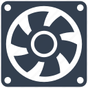 cooler, fan, hardware, parts icon