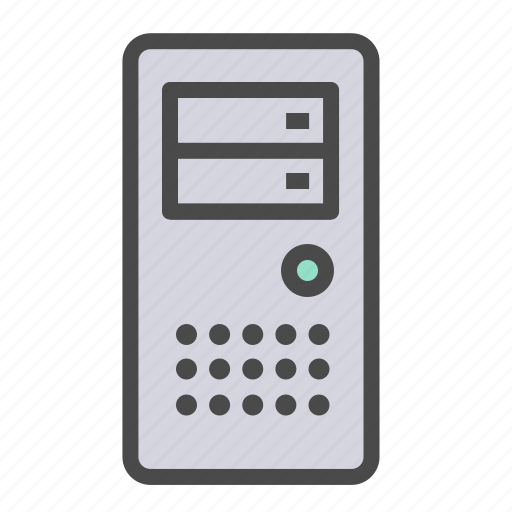 computer, pc, personal computer icon