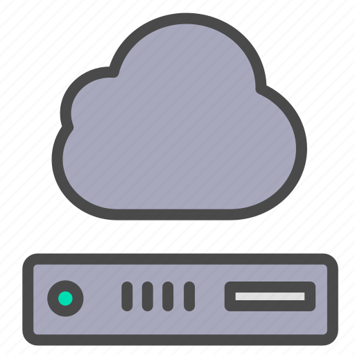cloud, storage, vps icon