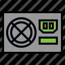 computer, iconpower, power, power supply, supply, supplypowerpower icon
