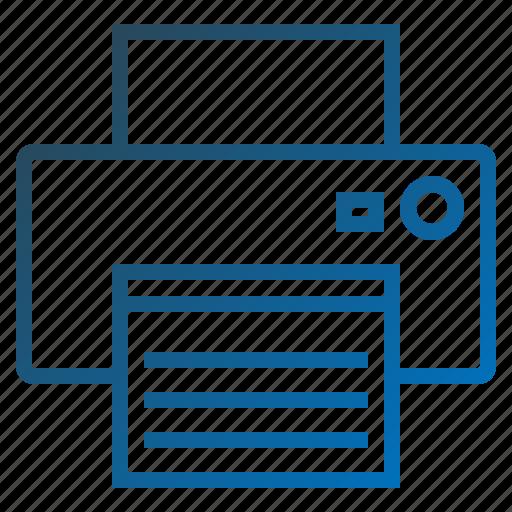 copy, devicefaxfax, fax, machine, printer icon