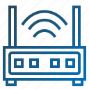 iconrouter, modem, router, signal, wifi, wifirouter icon