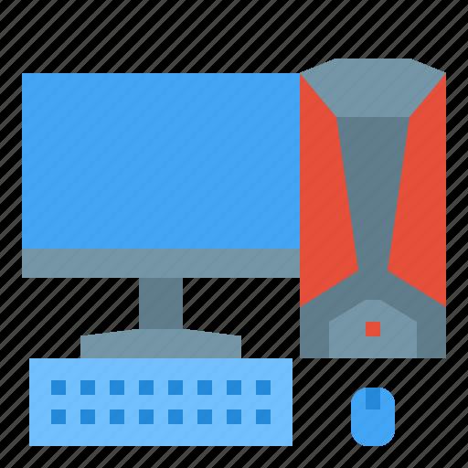 Computer, desktop, pc, technology, workstation icon - Download on Iconfinder