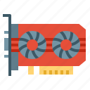 card, computer, hardware, pc, technology, vga icon