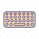 type, typer, device, keyboard, hardware, computer, component icon
