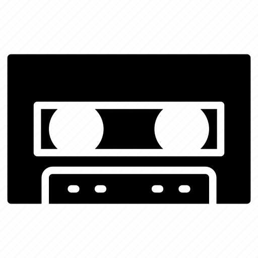cassette, hardware, music, tape, technology icon
