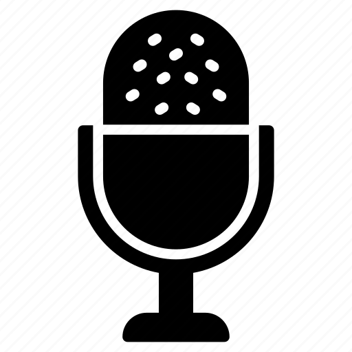 hardware, microphone, mike, recorder, speaker icon