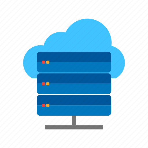 backup, cloud, computer, computing, infrastructure, network, server icon