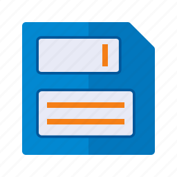 disc, disk, diskette, file, floppy, guardar, memory, save icon