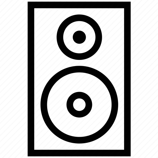 entertainment, loudspeaker, music, sound, speaker, woofer icon