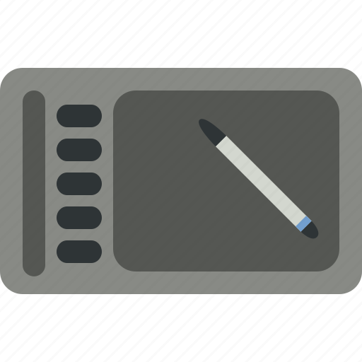 device, drawing, graphics, tablet icon