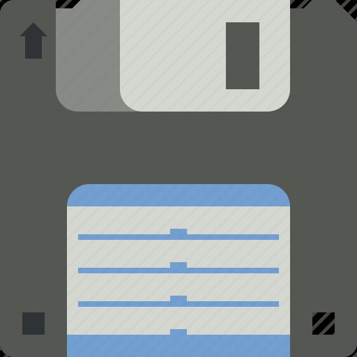 data, disk, floppy, save, storage icon