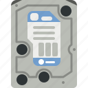 data, disk, drive, hard drive, hdd, storage icon