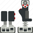 controller, device, joystick, throttle icon