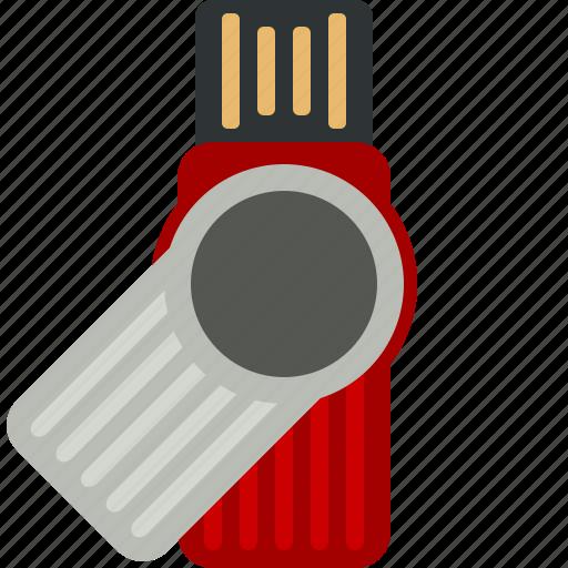 data, flash, memory, stick, storage, usb icon