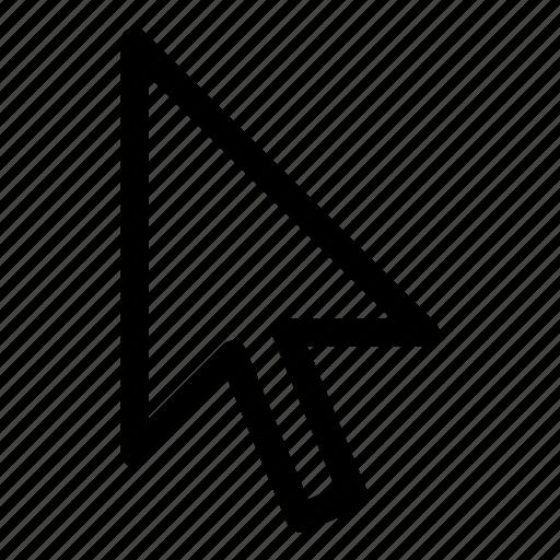 arrow, click, cursor, hover, link, pointer, seo icon