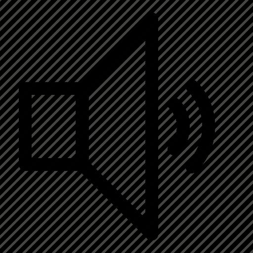 audio, control, music, normal, sound, speaker, volume icon